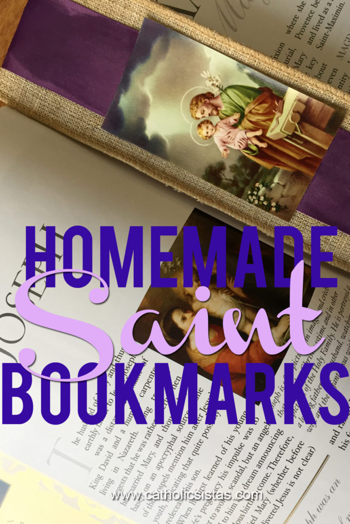 home-made-saint-bookmarks