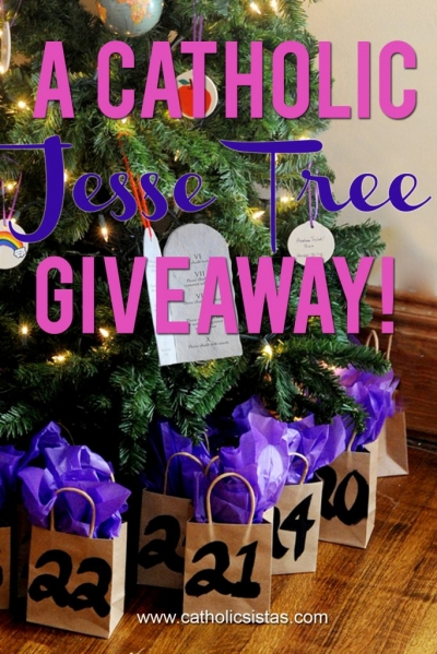GIVEAWAY: A Catholic Jesse Tree Ornament Set!