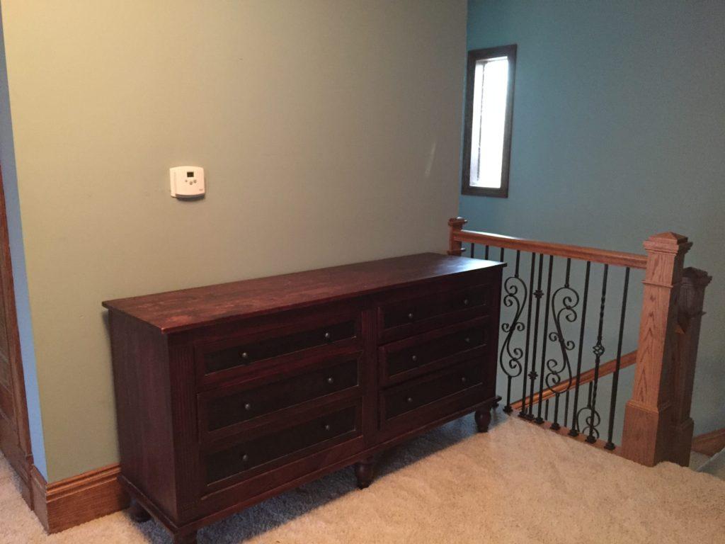 Decorating a Catholic Home: No Cost Hallway Vignette