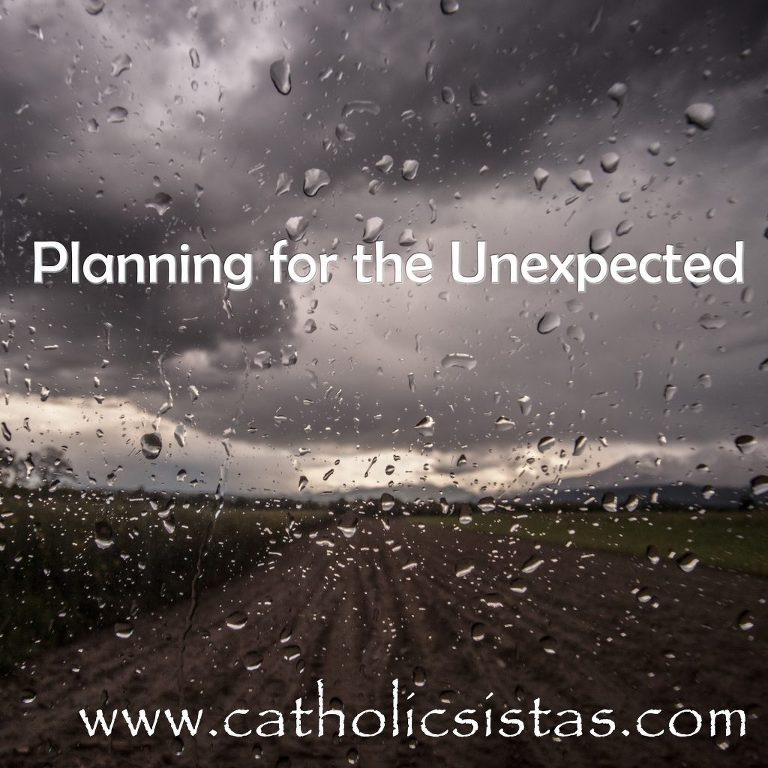 Plan for the Unexpected