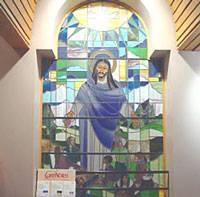 The chapel in our hospital where I have prayed in good times and in bad times, always resting in the blessing of God's presence