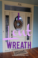 Fast and Easy Front Door Wreath for Lent