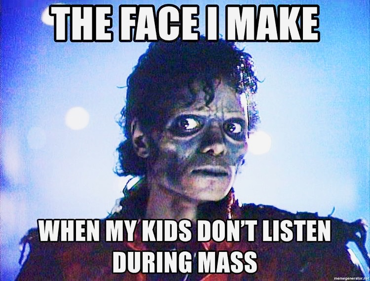 The Frazzled Catholic Mom's Guide to Getting through Mass (Mostly) in One Piece