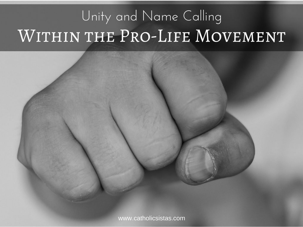 Unity and Name Calling