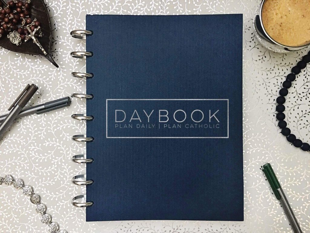 Why DAYBOOK Should be Your Catholic Planner