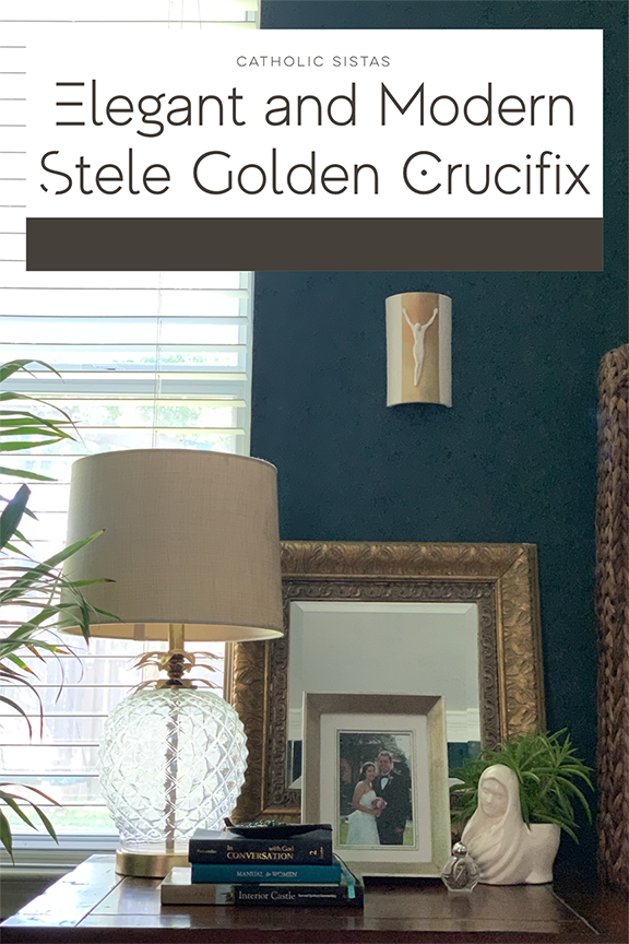 REVIEW Elegant and Modern Stele Golden Crucifix