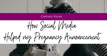 How Social Media Helped my Pregnancy Announcement