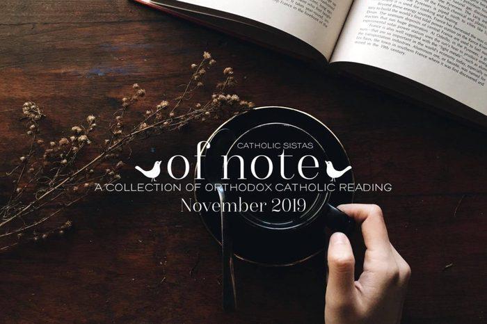 Of Note November 2019