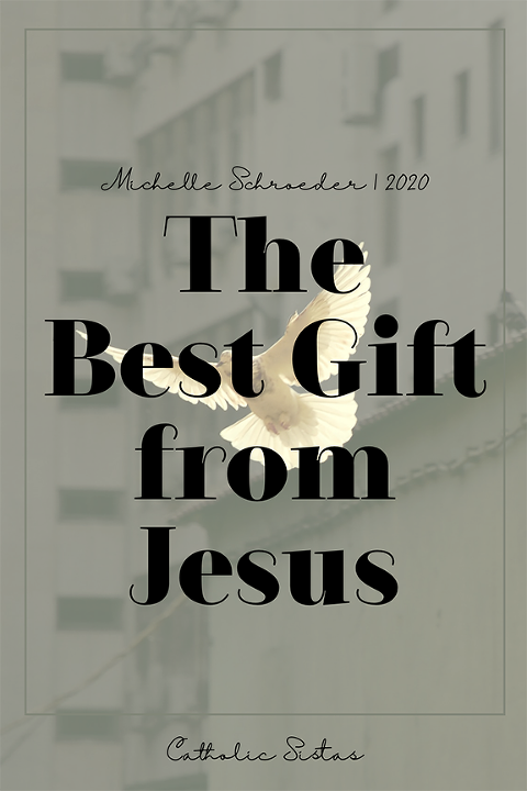 Jesus, gift, peace, Ascension, featured photo